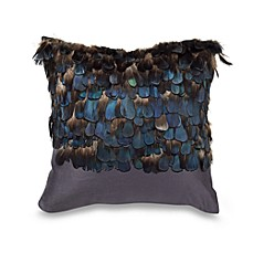 Nicole Miller® Feathers 14-Inch Square Toss Pillow