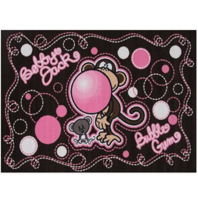 Bobby Jack® Burst My Bubble 1-Foot 7-Inch x 2-Foot 5-Inch Rug