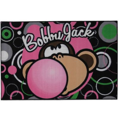 Bobby Jack® 3-Foot 3-Inch x 4-foot 10-Inch Bubble Gum Rug