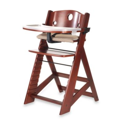 Keekaroo® Height Right High Chair with Tray in Mahogony