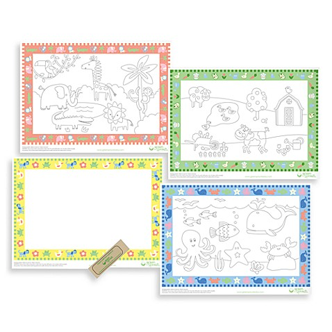 green sprouts® by i play.® Disposable Placemats