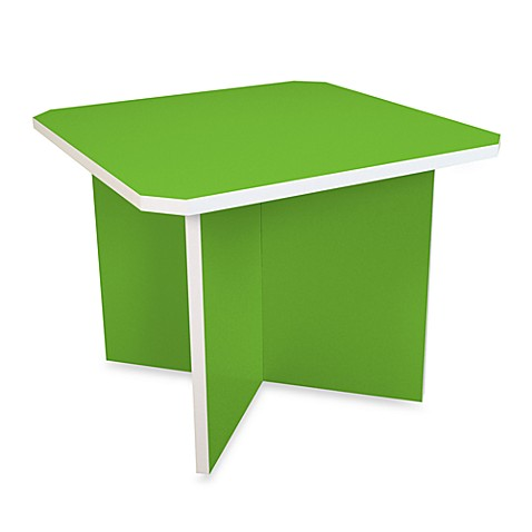 Way Basics Charlotte Table in Green