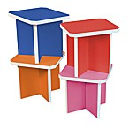 Way Basics Charlotte Stools in Multi-Colored (Set of 4)