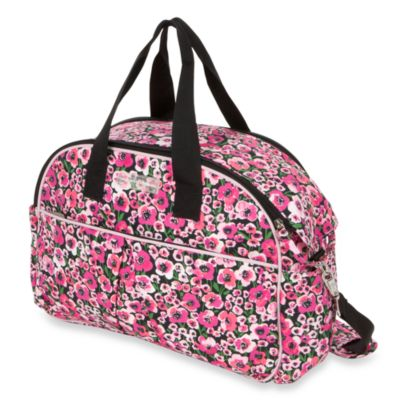 The Bumble Collection Diaper Bag/CarryAll in Peony Paradise
