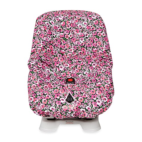 The Bumble Collection Car Seat Cover in Peony Paradise