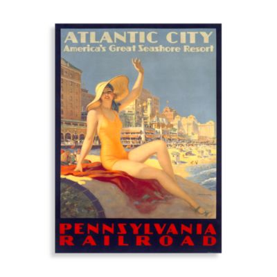 Atlantic City Wall Poster