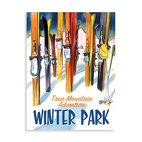 Winter Park Wall Poster