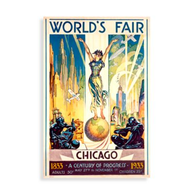 1933 World's Fair Wall Art