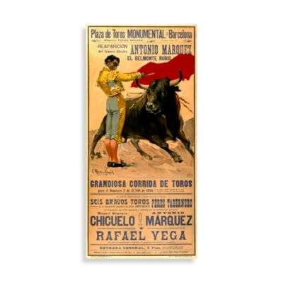 Wall Poster in Plaza de Toros