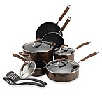 Farberware® Millennium Bronze Nonstick Enameled Aluminum 12-Piece Cookware Set and Open Stock