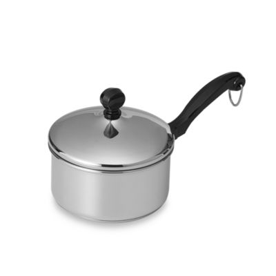 Farberware® Classic Series™ Stainless Steel 1-Quart Covered Saucepan