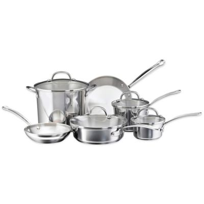 Millennium Stainless Steel 10-Piece Cookware Set