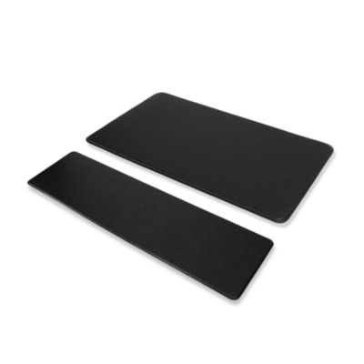 Imprint™ Nantucket Anti-Fatigue Comfort Mat in Black