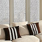 Decorative Privacy Film Window Glass Cling in Mosaic