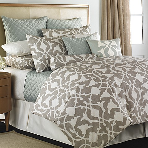 Barbara barry poetical comforter set www - Bed bath and beyond bedroom furniture ...