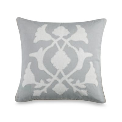 Barbara Barry® Poetical 18-Inch Square Applique Pillow