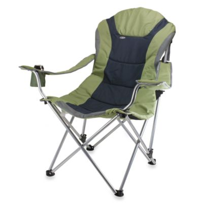 Picnic Time® Reclining Camp Chair in Sage