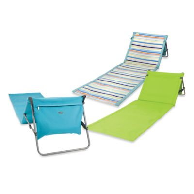 Picnic Time® Beachcomber Portable Beach Mat in St. Tropez Stripe