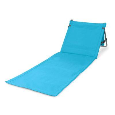 Picnic Time® Beachcomber Portable Beach Mat in Blue