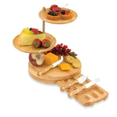 Stainless Steel Tiered Serving Trays