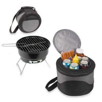 Picnic Time® Caliente Portable BBQ Grill and Cooler