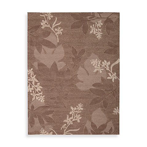 Nourison Skyland 5-Foot 6-Inch x 7-Foot 5-Inch Room Size Rug in Chocolate