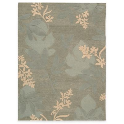 Nourison Skyland 7-Foot 6-Inch x 9-Foot 6-Inch Room Rug in Green