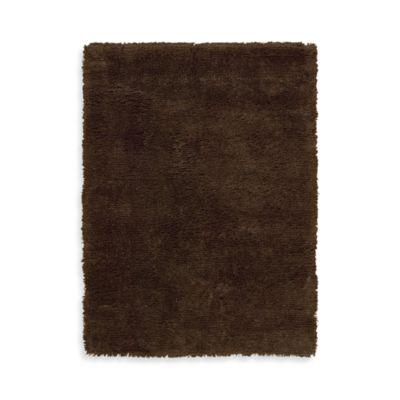 Nourison Splendor Chocolate 5-Foot x 7-Foot Room Size Rug