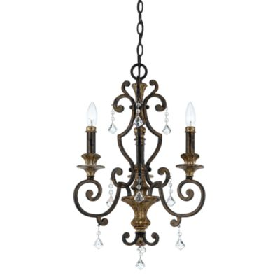 Quoizel® Marquette 2-Light Mini Chandelier