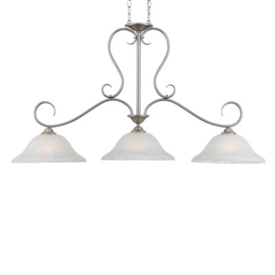 Quoizel® Duchess 1-Light Mini Pendant in Antique Nickel