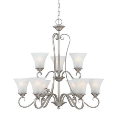 Quoizel Duchess 9-Lights Two Tier Chandelier