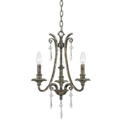 Quoizel Kendra 3-Light Mini Chandelier