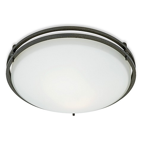 Quoizel®  Ozark Medium Flush Mount Light Fixture