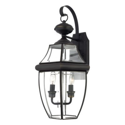 Quoizel Newbury Large Wall Lantern Outdoor Lighting