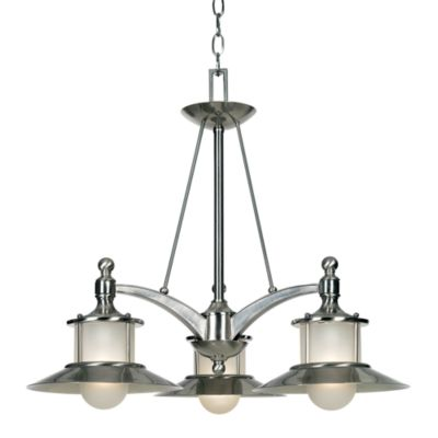 Quoizel® New England 3-Light Dinette Chandelier