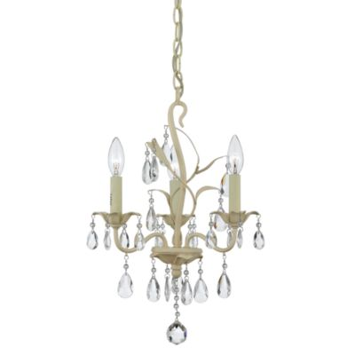 Quoizel® Ophelia 3-Light Mini Chandelier
