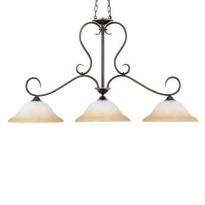 Quoizel Duchess 3-Light Island Chandelier