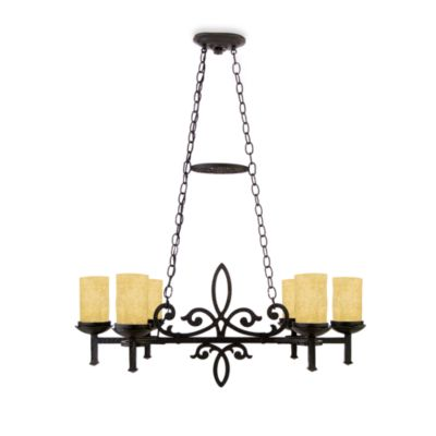 Quoizel La Parra 6-Light Island Chandelier