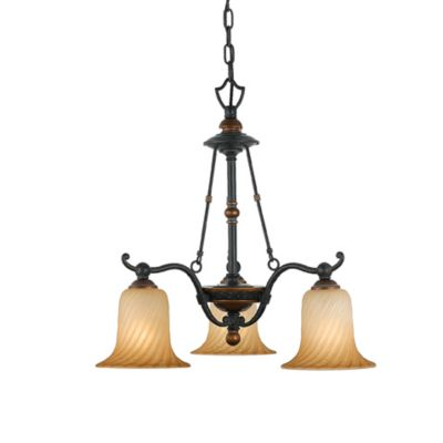 Quoizel® Genova 3-Light Dinette Chandelier