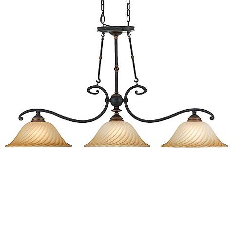 Quoizel Genova 3-Light Island Chandelier