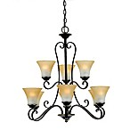 Quoizel Duchess 9-Light Two Tier Chandelier