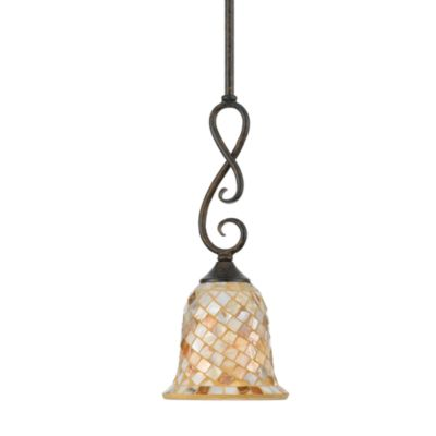 Quoizel® Monterey Mosaic Rod Hung Mini Pendant