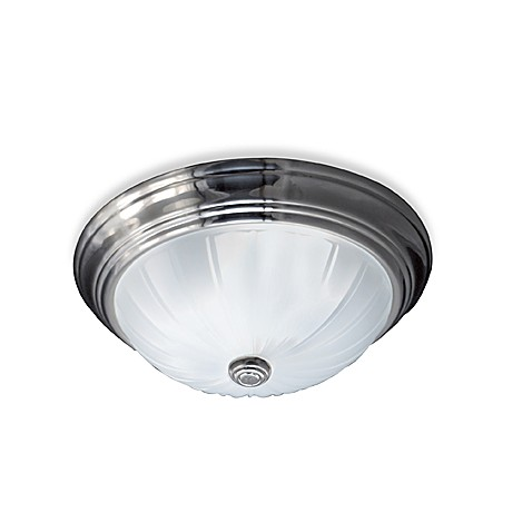Quoizel®  Empire Silver Melon Medium Flush Mount
