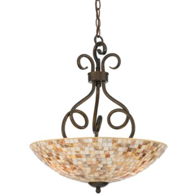 Quoizel® Monterey Mosaic 3-Light Pendant