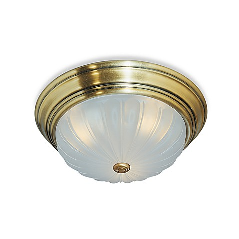 Quoizel Melon 2-Light Medium Flush Mount