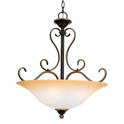 Quoizel Duchess 4-Light Pendant in Paladian Bronze
