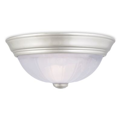Quoizel Alabaster Melon Small Flush Mount