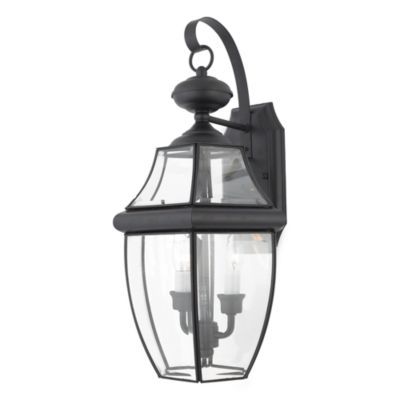 Quoizel® Newbury Large Wall Lantern in Mystic Black