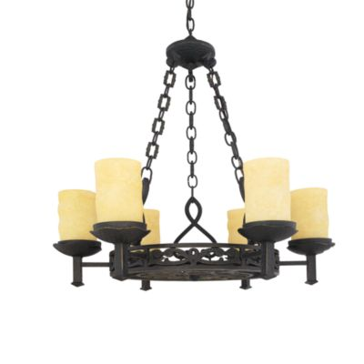 Quoizel La Parra 6-Light Chandelier