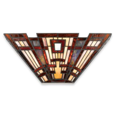 Quoizel® Classic Craftsman 2-Light Pocket Wall Sconce